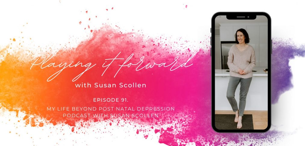 Playing it forward with Susan Scollen